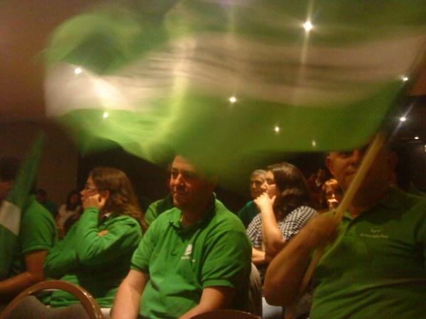 O verde da esperança não foi suficiente para garantir um lugar em São Bento.