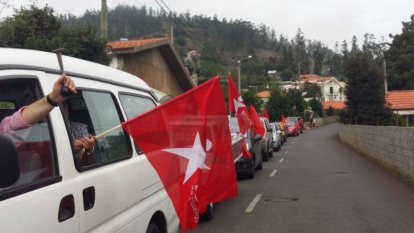 caravana bloco de esquerda