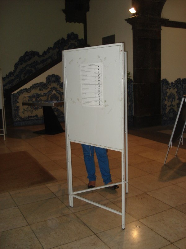 mesa de voto