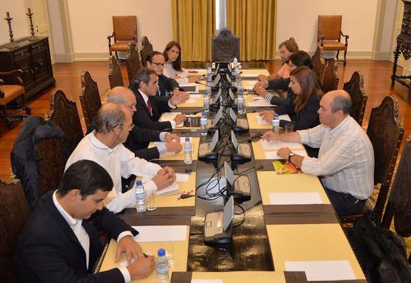 Funchal, 16-10-2015 Reunião dos partidos com assento parlamentar na Assembleia da Republica a pedido do PS Rui Silva / ASpress /