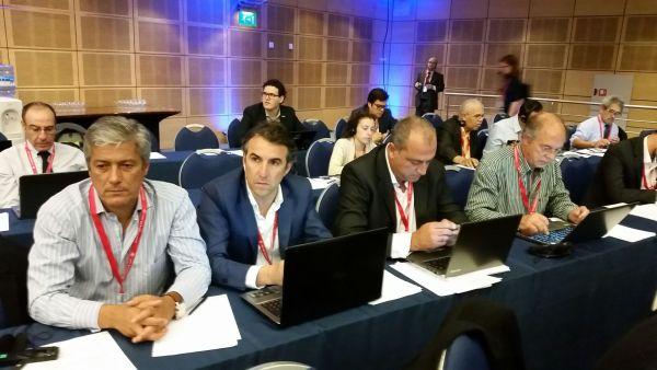 A comitiva portuguesa que participou em Malta na reunião internacional sobre tunídeos no Atlântico.