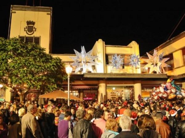 Noite Mercado natal