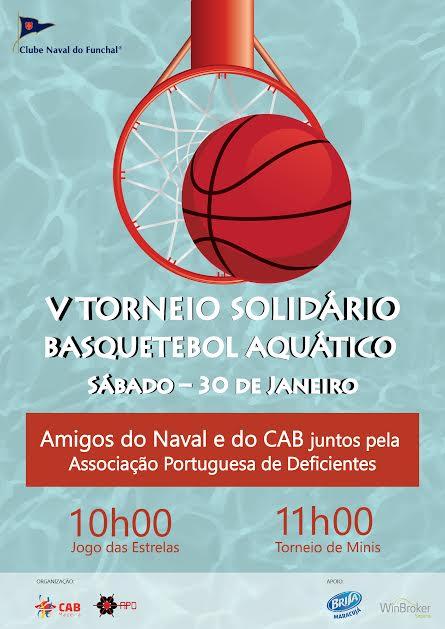 V Torneio Solidário de Basquetebol Aquático. basquetebol aquático 6b6e5bc85138e
