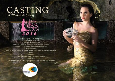 Casting Miss Madeira NATURNORTE
