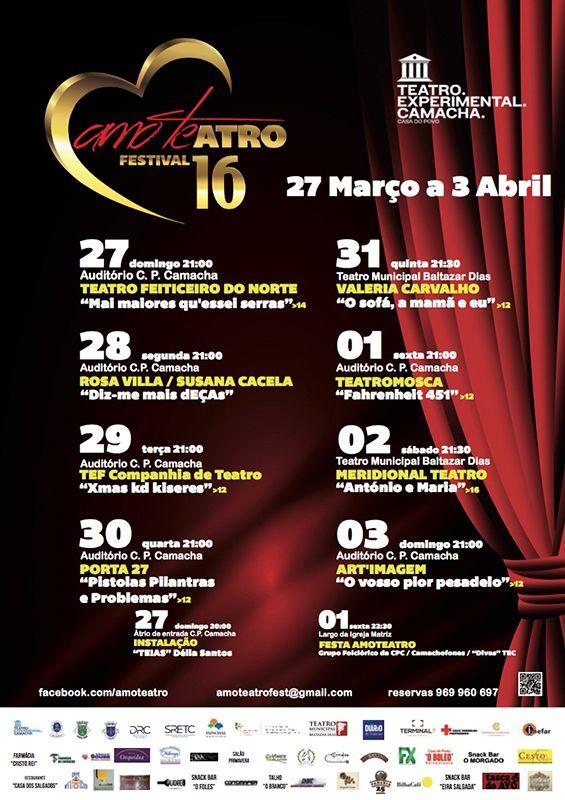 Teatro Experimental Camacha  7º Festival Amo-te