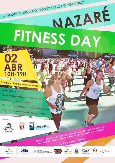 cartaz Nazaré Fitness Day