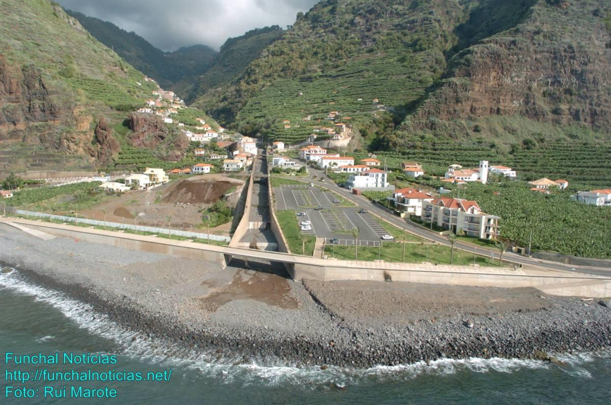 Tecnovia vai regularizar troço final da Ribeira da Madalena do Mar por 6,8 milhões de euros