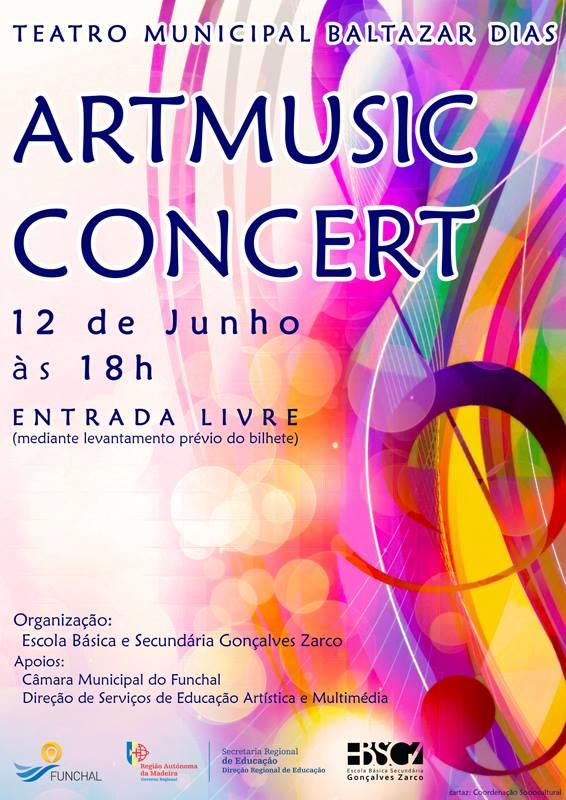Art music concert
