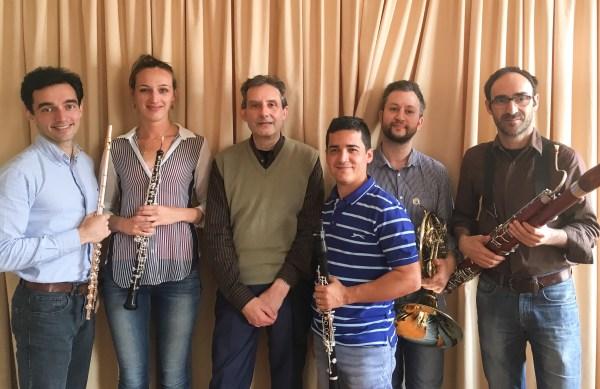 Quinteto Atlantida e Compositor