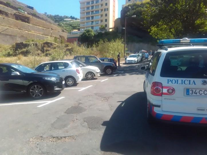 praia formosa estacionamento psp polícia