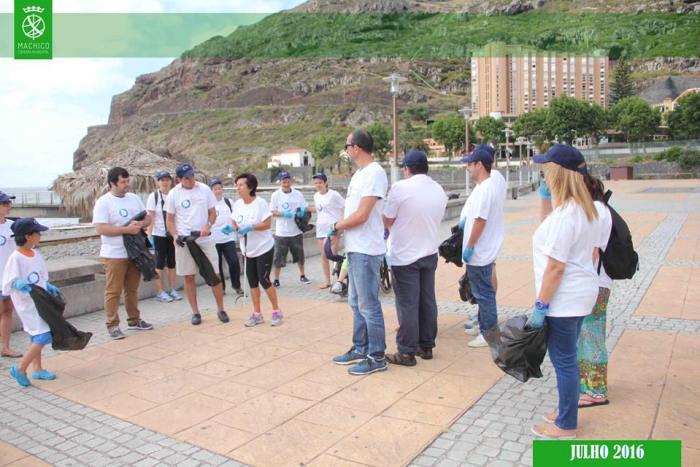 Limpeza Praia de S. Roque 1