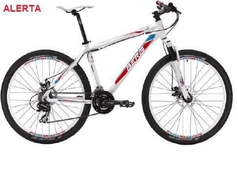 bicicleta BergCicle defeito suspensão