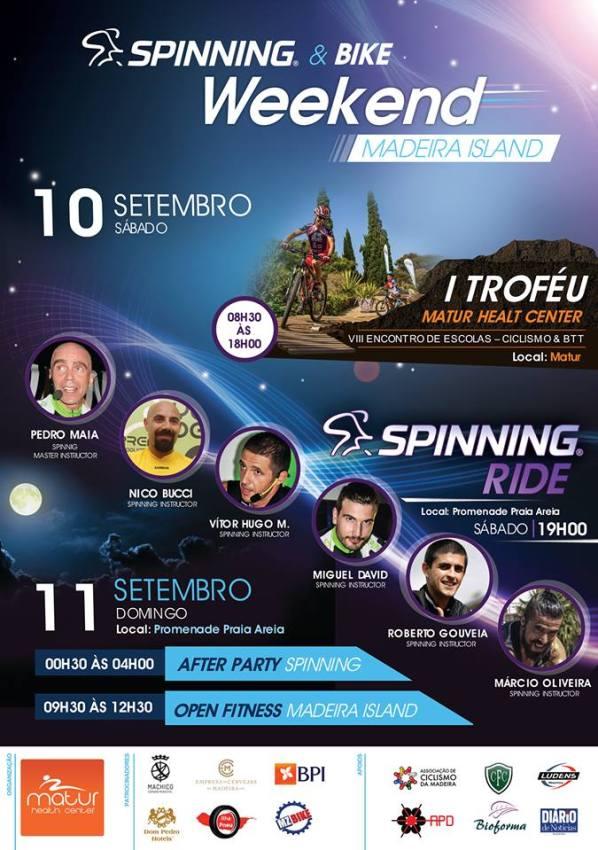 Bike Spinning Weekend Madeira Island 2016