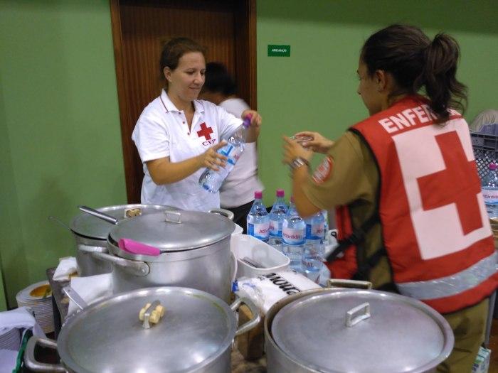 cruz vermelha voluntariado