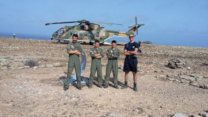 Selvagens Missão Autoridade Marítima Nacional Força Aerea 6