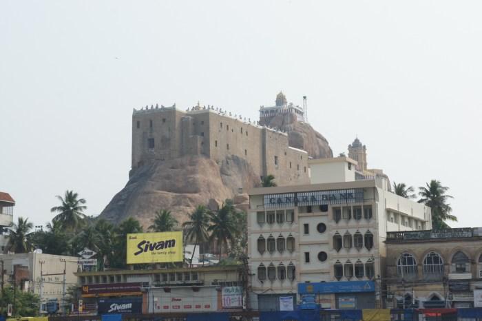 Forte do Rochedo, construído pelos Nakayas da vizinha Madurai
