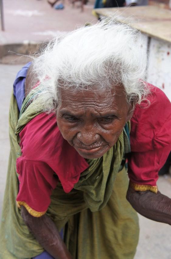 Mil histórias estão gravadas no rosto dos indianos