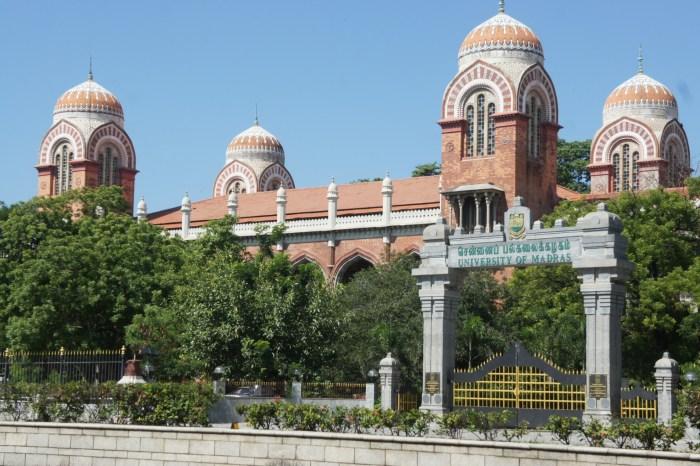 Universidade de Madras, em Chennai