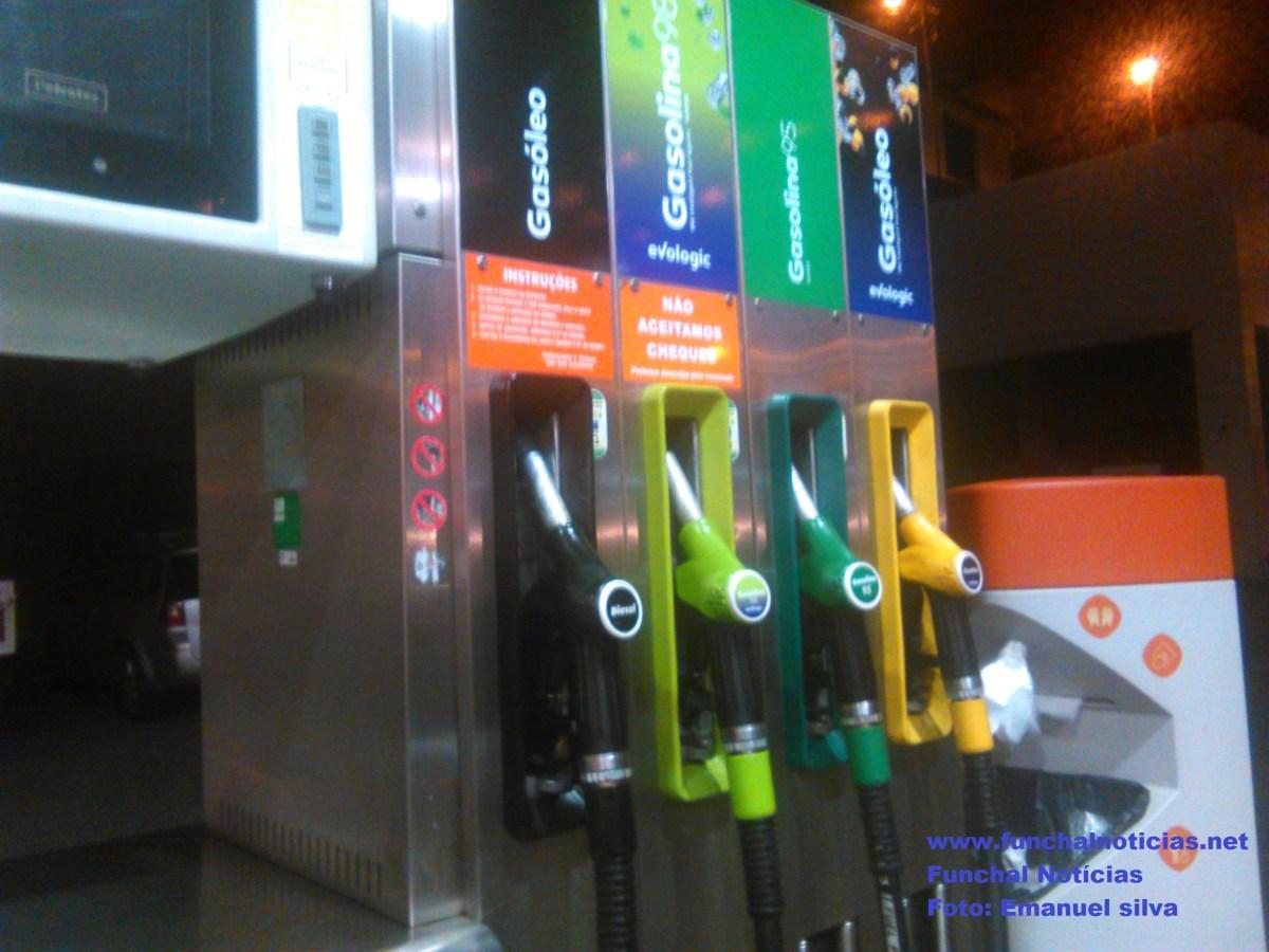 Preço dos combustíveis baixa na Madeira após 10 semanas sempre a subir