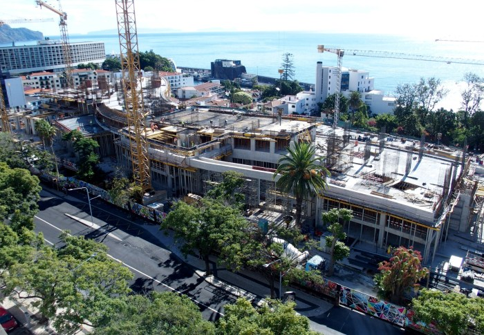 Vista Av. Infante - Zona Nascente. (Foto Rui Marote)