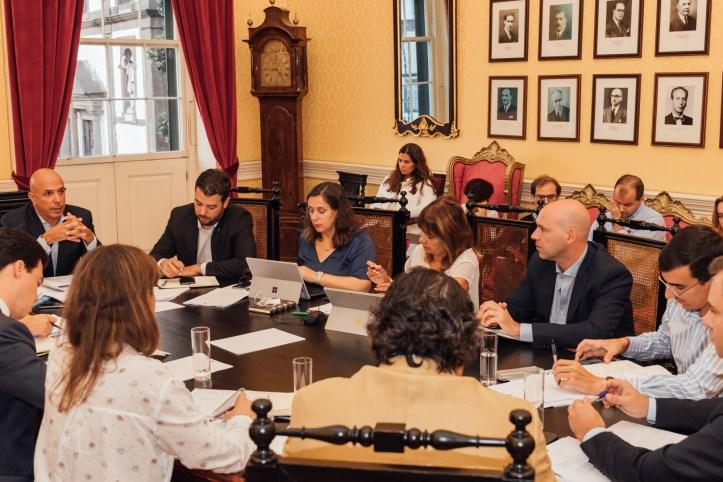 CMFD 1ª reunião do novo mandato