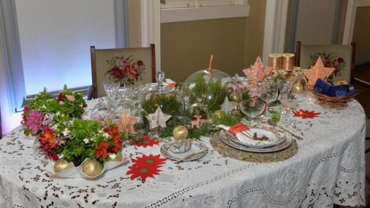 Bordado mesas de Natal 1