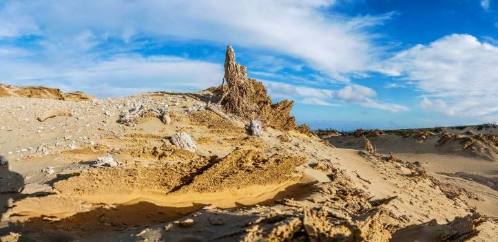 Fonte da Areia, registos fósseis da zona Foto Pedro Menezes