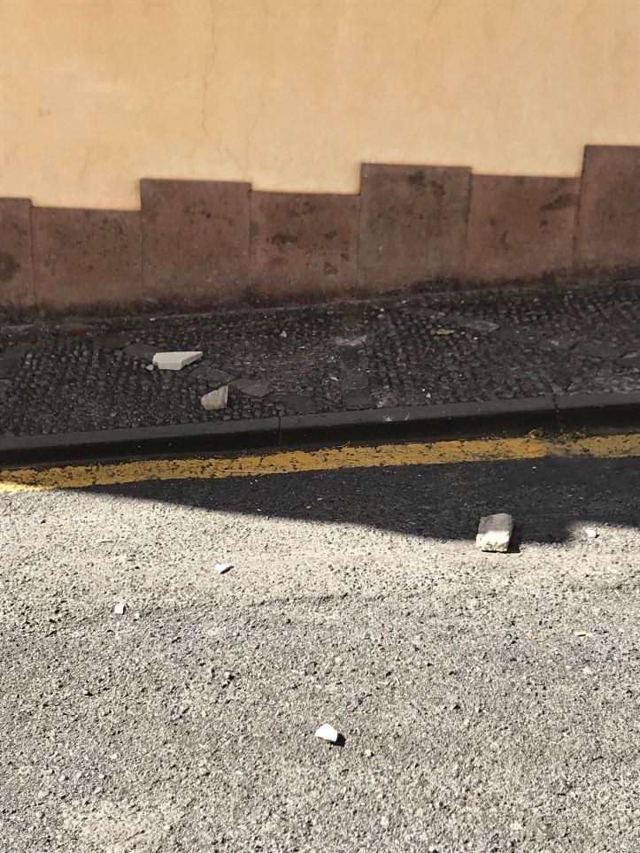 Ponta do Sol queda de pedras