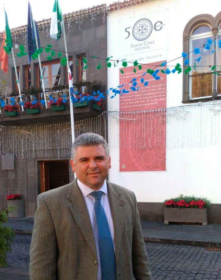 Pedro Freitas concelhia do CDFS Santa Cruz