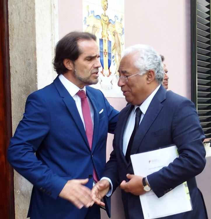 António Costa com Albuquerque
