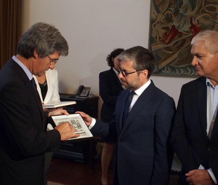 Tranquada Gomes com Marco António Costa