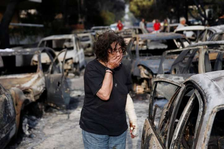 Grécia incendios