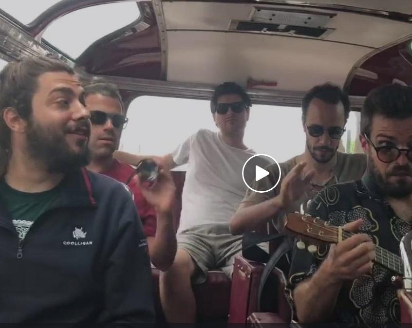 """Veja a """"excursão"""" de Salvador Sobral no """"horário"""" (vídeo)"""
