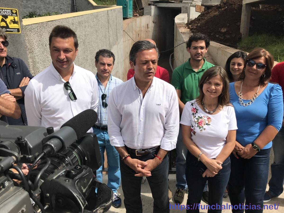 """Calado foi ao Monte """"esquecido pela Câmara"""" e falou num """"Funchal parado"""" em """"cidade sem rumo"""" e Governo que """"não foge da Assembleia"""""""