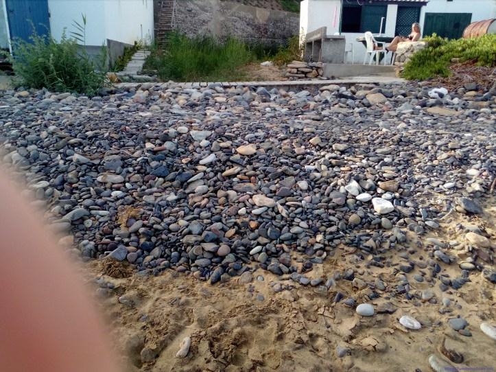 Porto Santo praia pedras A