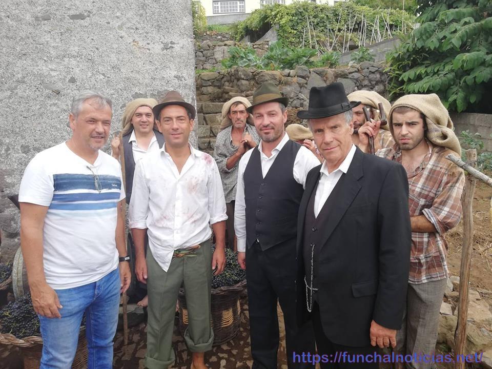 """Filme """"Cartas de Fora"""" iniciou filmagens em São Vicente com o """"ator"""" Rocha da Silva"""