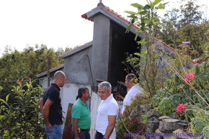 Santa Cruz recuperação de casas