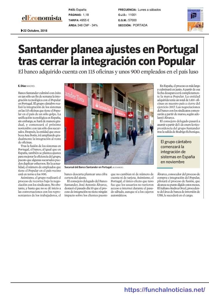 Santander-Noticia El Economista 22.10.2018-1