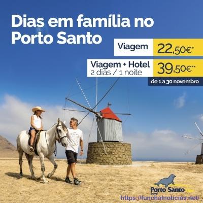 Dias em família no Porto Santo