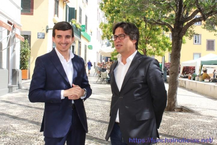 João Pedro Vieira com Victor Freitas