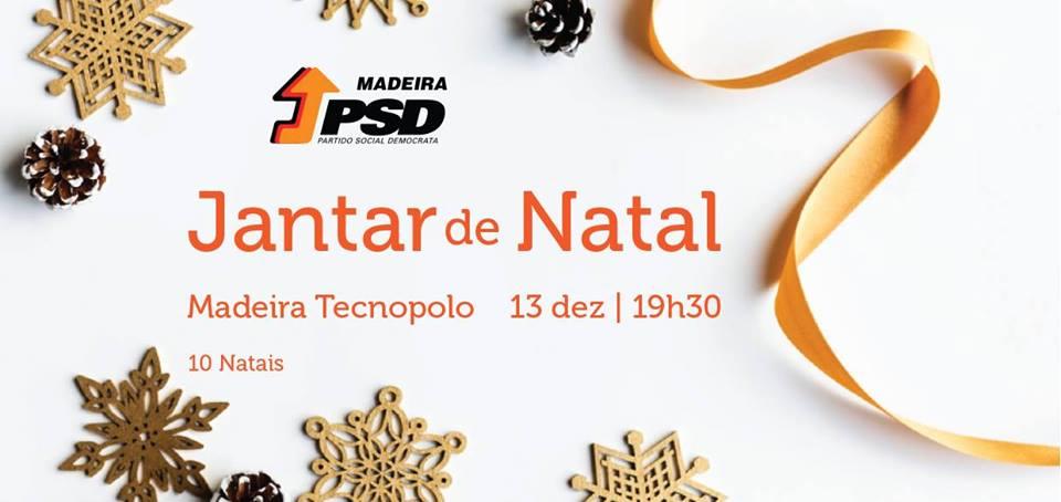 PSD-Madeira: Hoje há jantar de Natal, amanhã há diretas