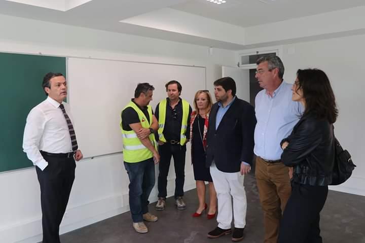 Obras na Escola do Porto Santo deverão ficar concluídas em julho de 2019