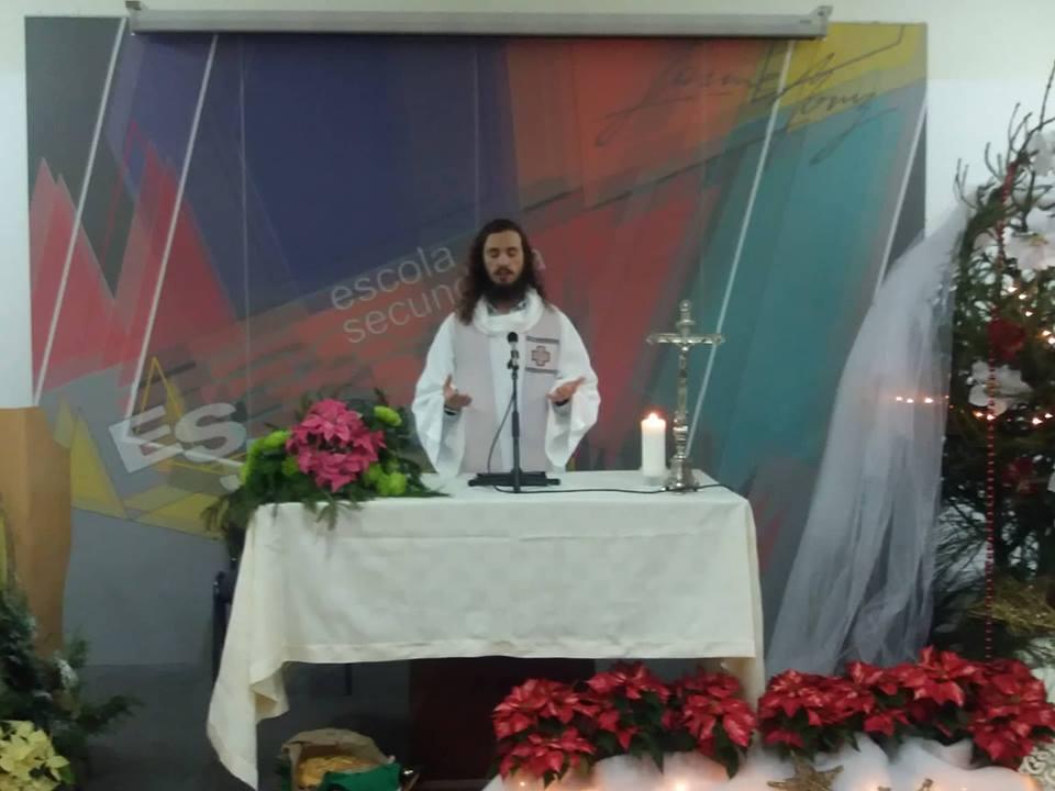 """Padre Magalhães deixa desafio na Jaime Moniz: façam do vosso Natal um verdadeiro """"berço"""""""