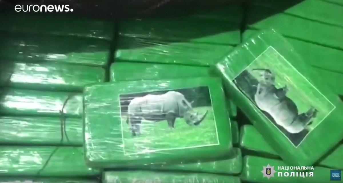 Apreendida cocaína avaliada em 45 milhões de euros [vídeo]