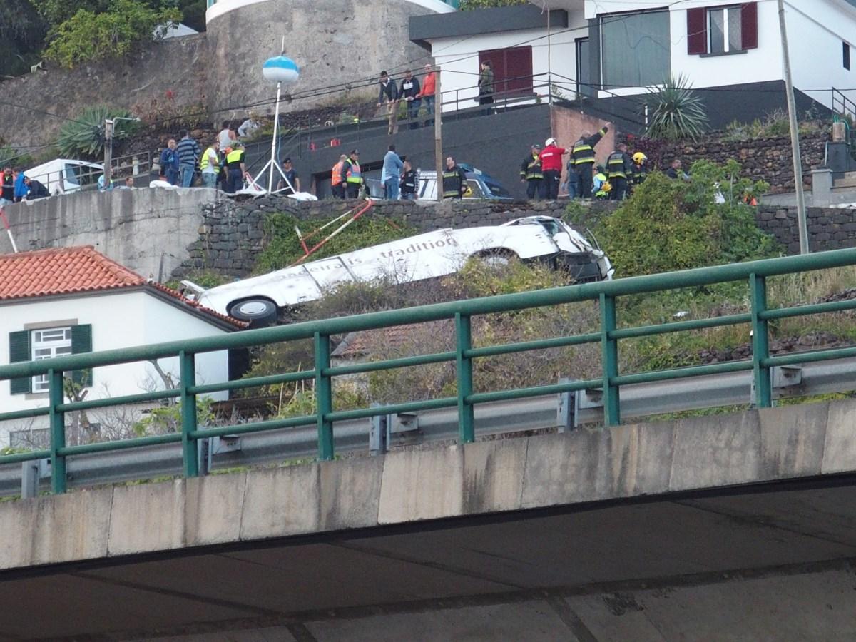 SESARAM faz ponto da situação quanto às vítimas do acidente com o autocarro no Caniço
