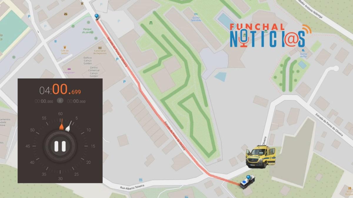 Simulação do acidente com o autocarro de turistas que ocorreu no Caniço [vídeo]