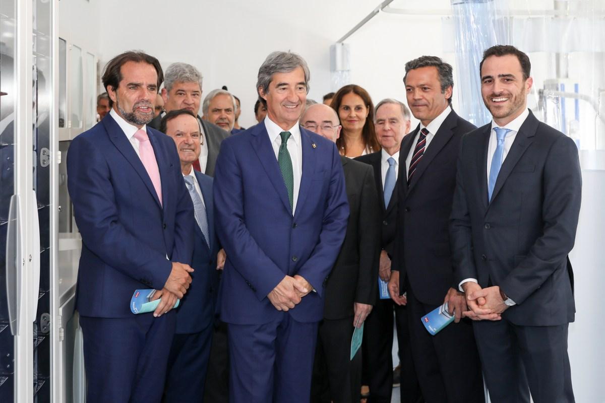 """Miguel Albuquerque foi ao Hospital Particular apoiar o investimento privado mas garantir que o Serviço Regional de Saúde """"é de excelência"""""""
