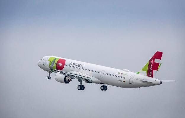 TAP voo inaugural Praga
