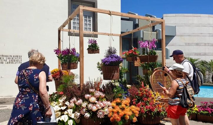 arranjos florais Festa da Flor maio de 2019