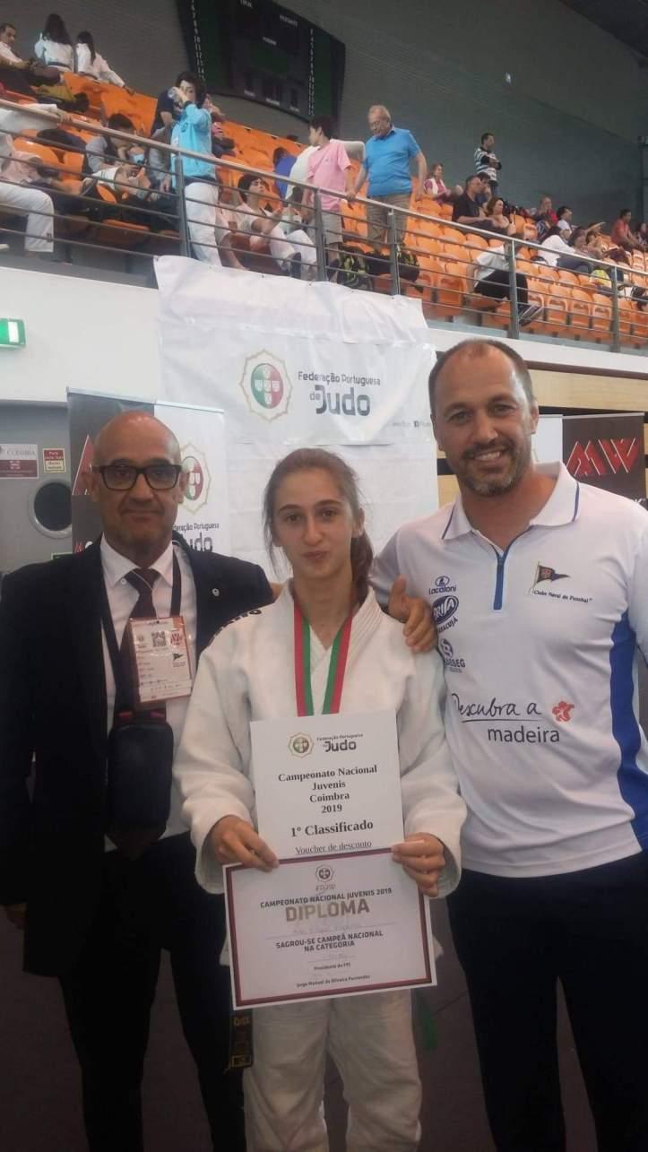 Ana Freches campeã nacional de judo